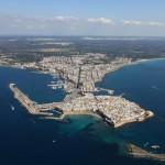 hote città bella gallipoli Salento vista dall'alto