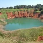 otranto salento lago di bauxite